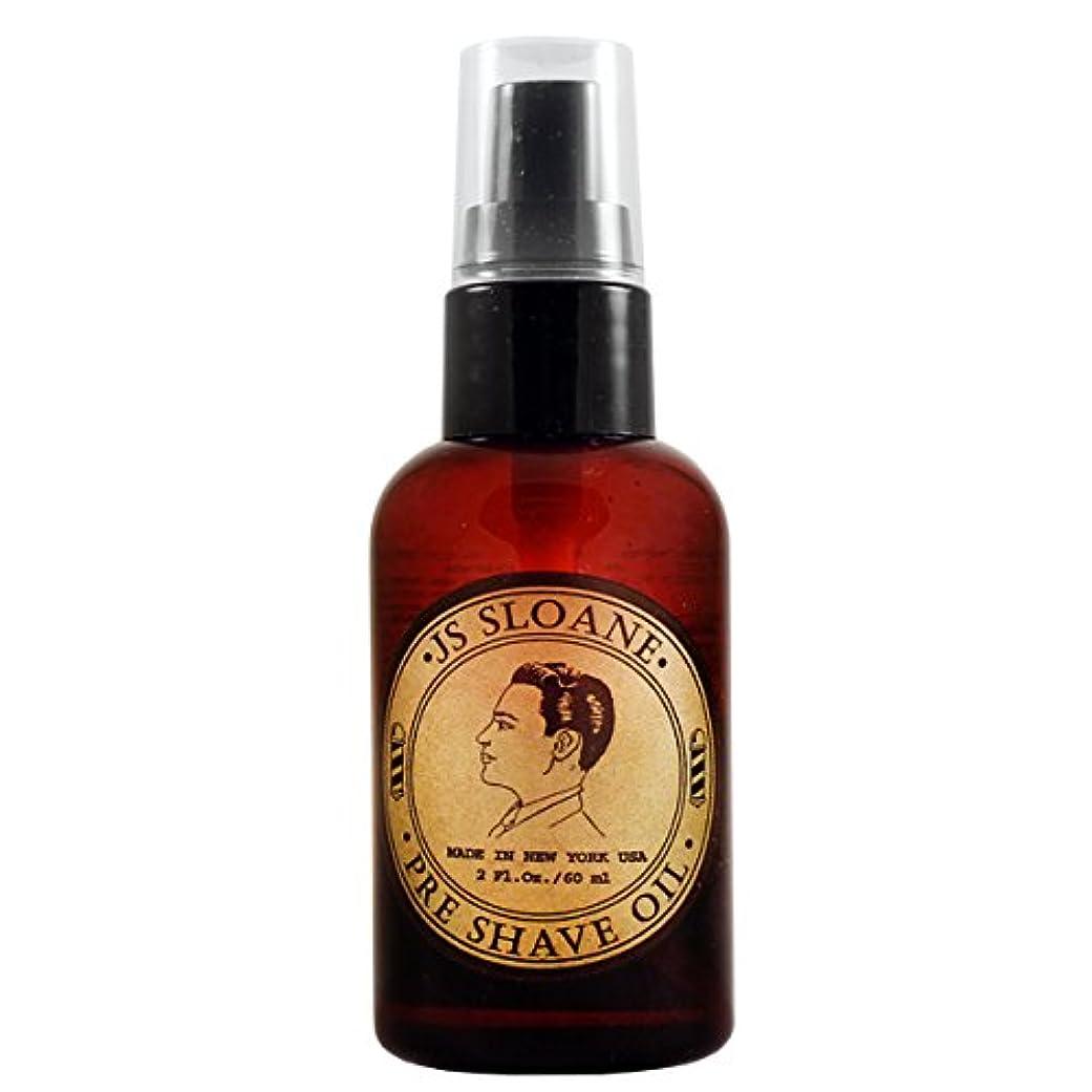 成熟した一定天国ジェイエススローン(JS Sloane) プレシェーブオイル Pre Shave Oil メンズ 髭剃り ヒゲ シェービング シェーブ オイル クリーム フォーム