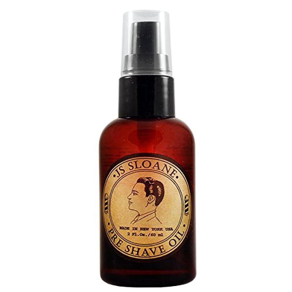 多様性所持機転ジェイエススローン(JS Sloane) プレシェーブオイル Pre Shave Oil メンズ 髭剃り ヒゲ シェービング シェーブ オイル クリーム フォーム