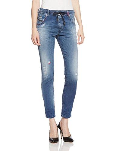 (ディーゼル) DIESELレディース デニムパンツ ジョグ ジーンズ カラーステッチ KRAILEY-NE Sweat jeans レギュラーボーイフレンド