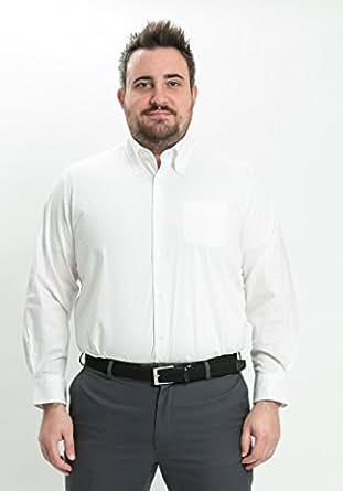 LIBERATON(リベレートン) ストレッチドレスシャツ ジャパンリミテッド ホワイト(XL~XMサイズ) PT-006 (XL)
