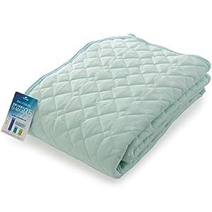 ナイスデイ ひんやり 敷きパッド 接触冷感 Q-max0.516 洗える 敷パッド 抗菌 防臭 リバーシブル ダブル ミント 57050304