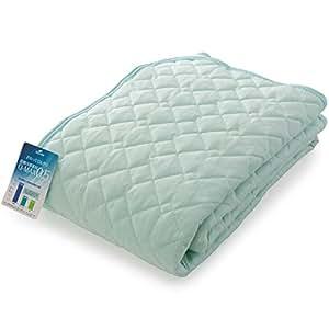 ナイスデイ ひんやり 敷きパッド 接触冷感 Q-max0.516 洗える 敷パッド 抗菌 防臭 リバーシブル シングル ミント 57050104