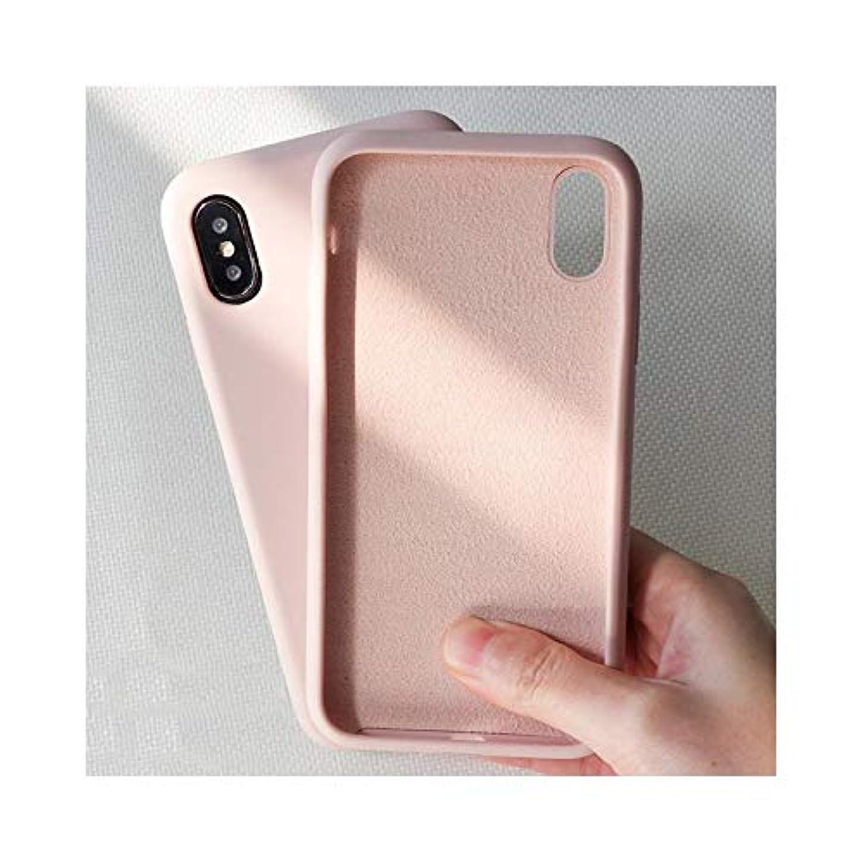 帰する会う間違いなくWAYNEYOROSH シンプルなソリッドカラーシリコン電話ケースについてはIPhone 6 6S 7 8プラスキャンディ色のソフト裏表紙のためにIPhone XSマックスX XRケース (Color : イエロー, Size : For iPhone 6 Plus)