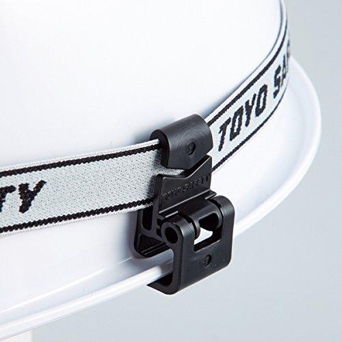 ミゾ付きヘルメット用 ゴーグルクリップ TYS-88-OK(...