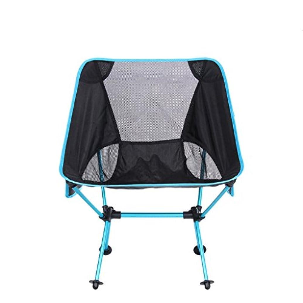 メンター債権者十一多機能屋外ピクニックサイドポケットオックスフォード布アルミ折りたたみ椅子、ライトブルー用バーベキューキャンプ釣り釣りハイキングビーチ アウトドア キャンプ用