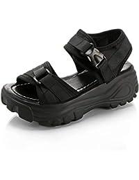[ODFMCE] サンダル レディース 厚底 スポーツサンダル ファッション レディースシューズ 軽量 歩きやすい