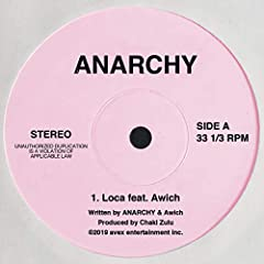 Loca feat. Awich♪ANARCHYのCDジャケット