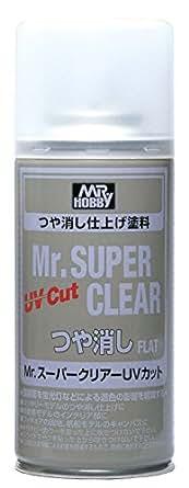 GSIクレオス Mr.スーパークリアー UVカット つや消し スプレー 170ml ホビー用仕上材 B523