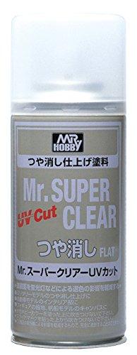 Mr.スーパークリアーUVカット つや消し 170ml B523