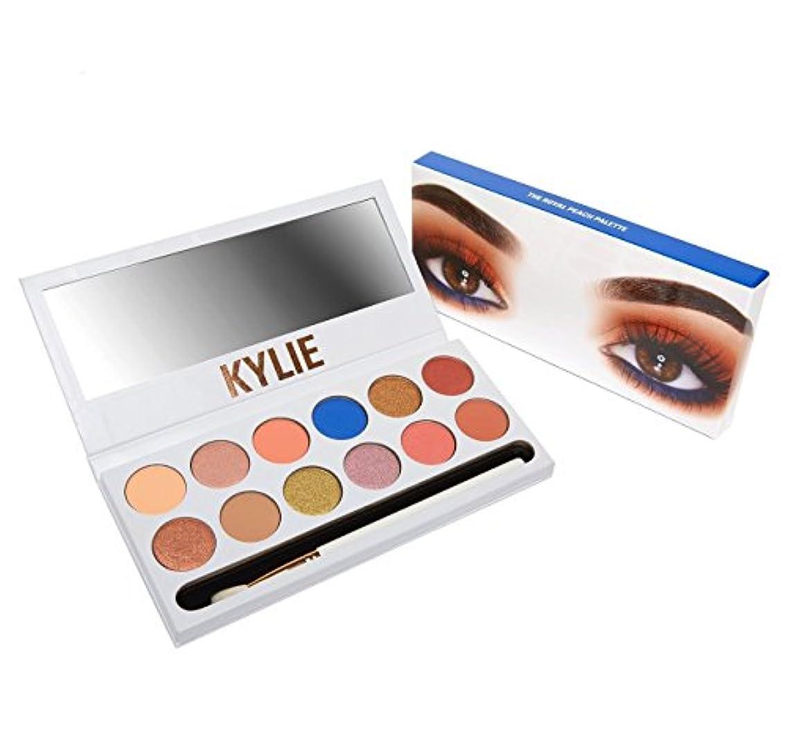 調停する提案する平和Kylie Cosmetics(カイリーコスメティック)THE ROYAL PEACH PALETTE