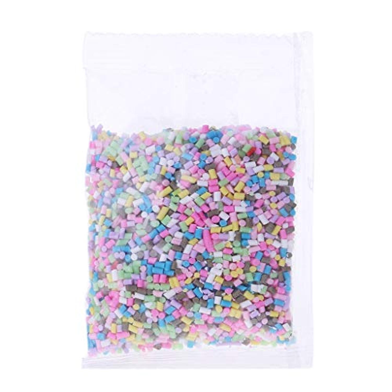 JAGENIE 26g Plastic Rainbow Sprinkles Fluffy Floam Slime Clay Mud DIY Slime Accessories