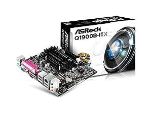 ASRock Intel マザーボード BayTrail-D クワッドコア Celeron J1900 Mini-ITX Q1900B-ITX