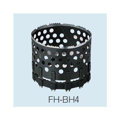 未来工業 小判穴ホルソー替え刃 ケイカル板・普通硬質せっこうボード向け FH-BH4