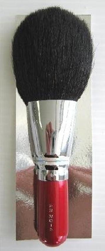 適応的滑る消化器竹宝堂 広島 熊野筆化粧ブラシ フェイスパウダーブラシ AR20-4