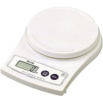 タニタ(TANITA) デジタルクッキングスケール ホワイト KD-173-WH