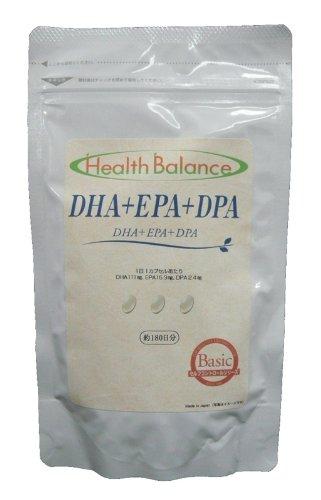 ヘルスバランスシリーズ DHA+EPA+DPA (約180日分)