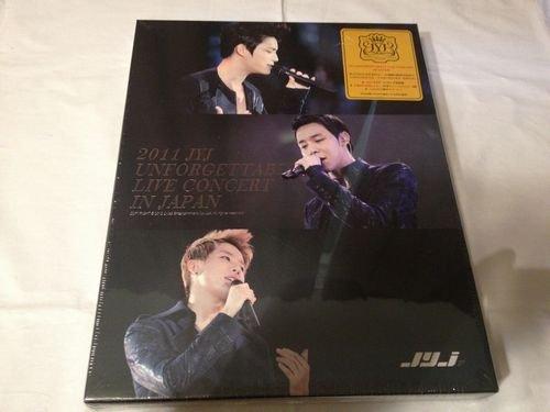 2011 JYJ UNFORGETTABLE LIVE CONCERT IN JAPAN(完全初回限定生産版)