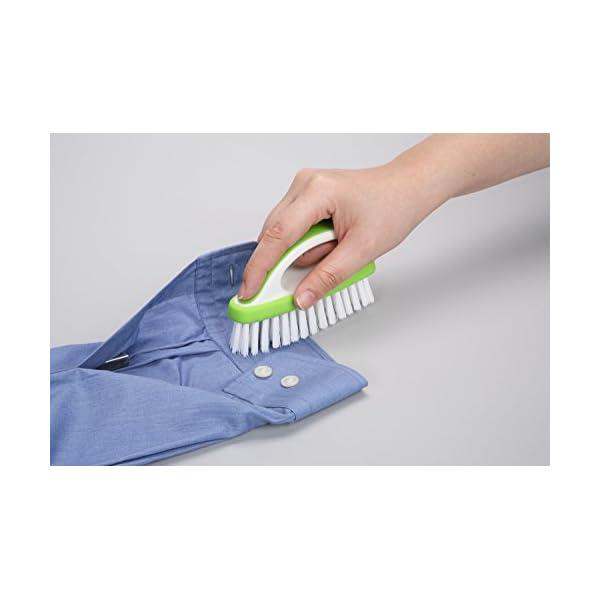 東和産業 洗濯ブラシ LM スリム グリーンの紹介画像3