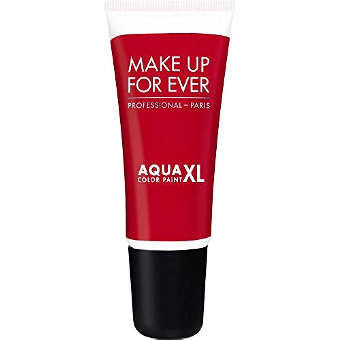レインコートかまど温帯[MAKE UP FOR EVER] 防水アイシャドウ4.8ミリリットルのM-72 - - マット赤史上アクアXl色の塗料を補います - MAKE UP FOR EVER Aqua XL Color Paint - Waterproof...