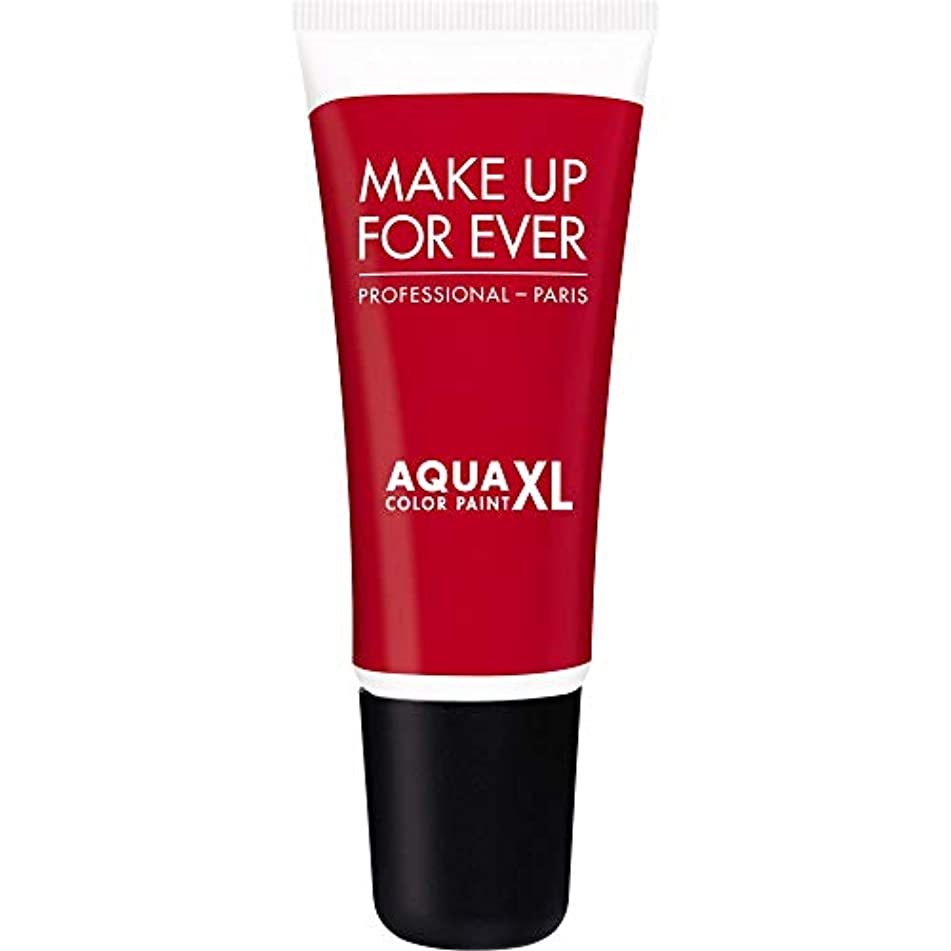 歩き回るディプロマ励起[MAKE UP FOR EVER] 防水アイシャドウ4.8ミリリットルのM-72 - - マット赤史上アクアXl色の塗料を補います - MAKE UP FOR EVER Aqua XL Color Paint - Waterproof...