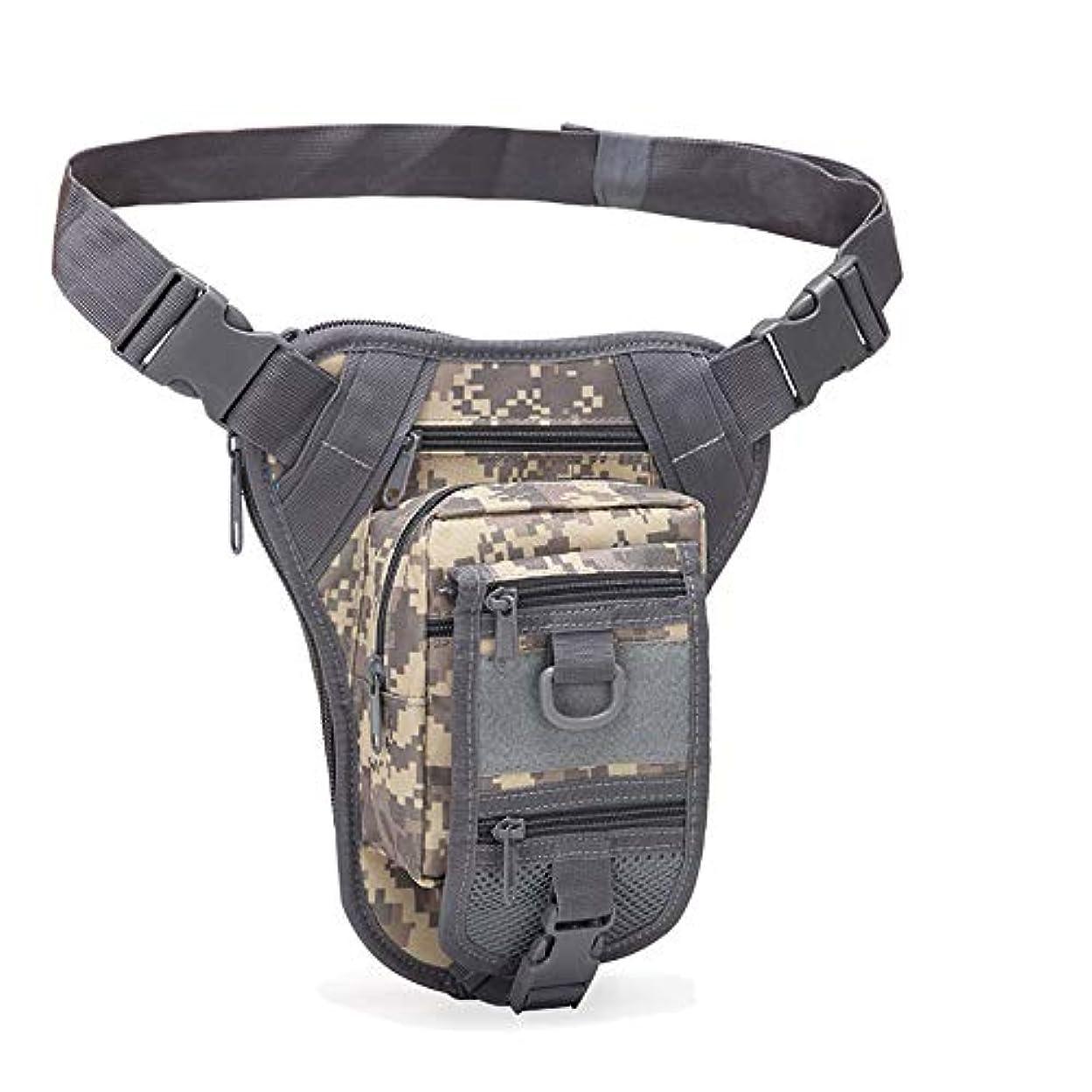 期待するラグ抜け目のないOutdoor Tactical Bag Assault Combat Camouflage Tactical Molle Leg Pack