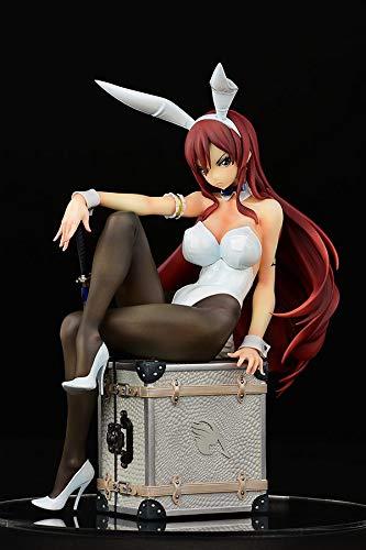 FAIRY TAIL エルザ・スカーレット Bunny girl_Style / type white 1/6スケール PVC製塗装済み完成品
