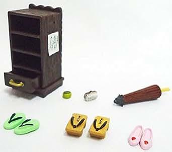 【6】 タカラ 昭和おもひで温泉 脱衣場の下駄箱 単品