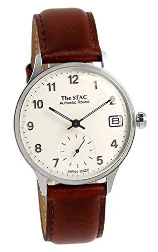[ザ・スタック] The STAC 日本製 国産 腕時計 ウォッチ Authentic Round 36mm クラシック メンズ レディース