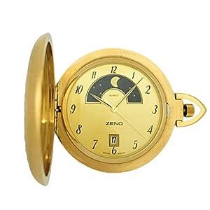 [ゼノ ウォッチ]ZENO WATCH 懐中時計 ポケットウォッチ クォーツ サン&ムーン SWISS MADE ZT-678Q-i6 【正規輸入品】