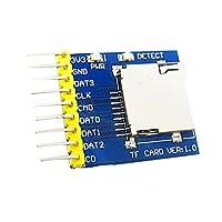 Fenteer Arduino SPI SDIO対応 マイクロ SD カード モジュール シールド スロット リーダー メモリ