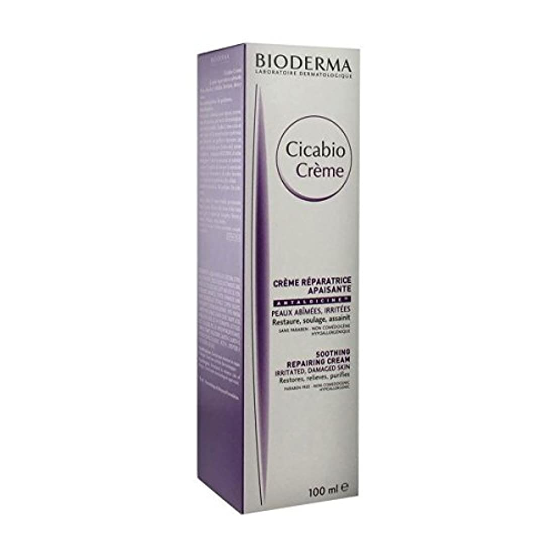シュート濃度船形Bioderma Cicabio Cream 100ml [並行輸入品]
