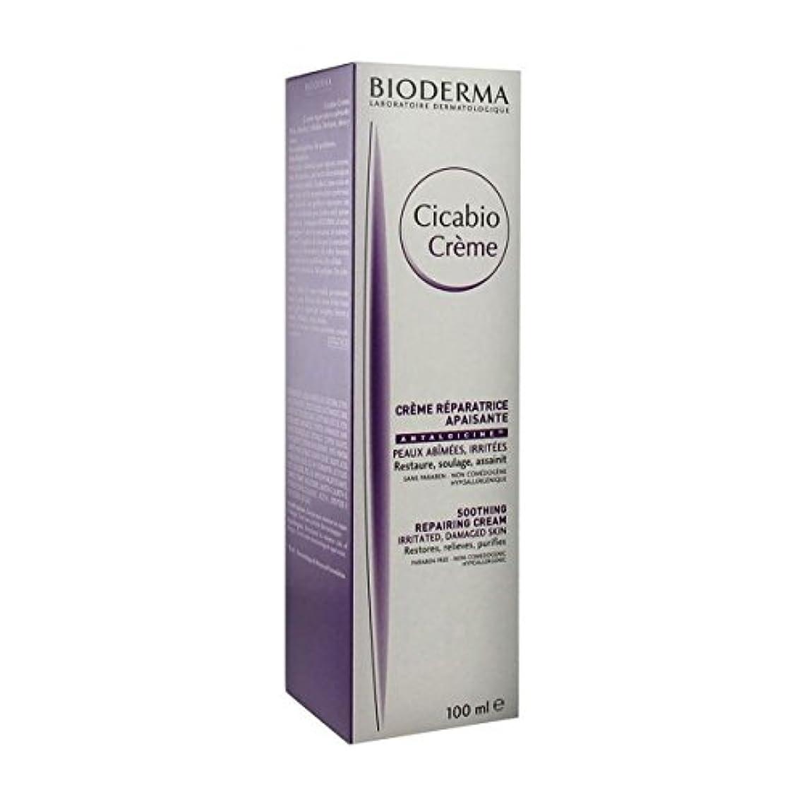 瞬時にライブ蒸し器Bioderma Cicabio Cream 100ml [並行輸入品]