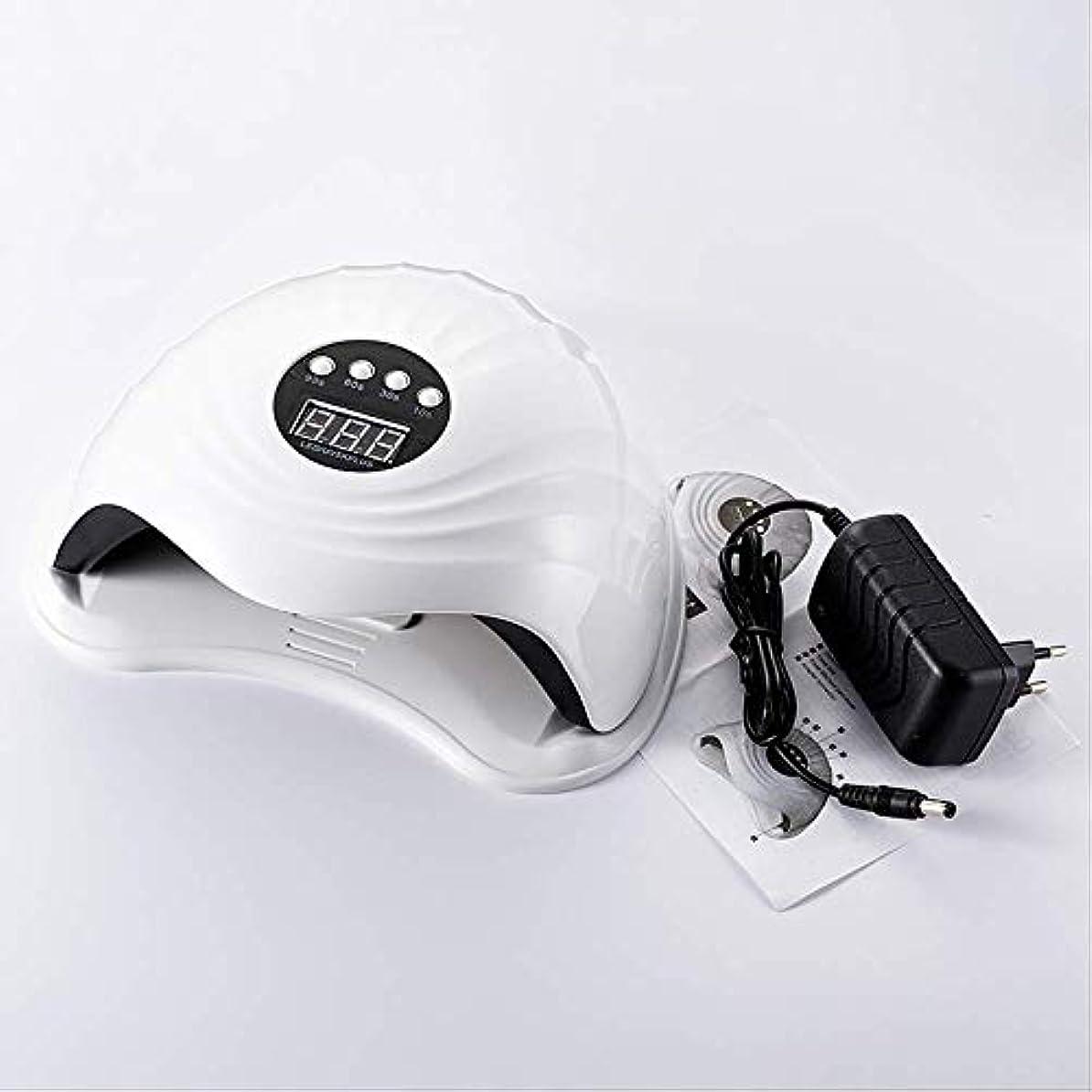 乳代理店レビュアーRRSHUN 108w 36pcs Ledネイルランプ用ネイルドライヤーUVランプネイルマシンツール用硬化ゲルポーランド語ライトセンサータイマー付き
