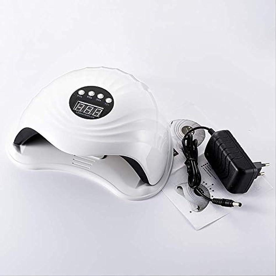 スリル肉腫そっとRRSHUN 108w 36pcs Ledネイルランプ用ネイルドライヤーUVランプネイルマシンツール用硬化ゲルポーランド語ライトセンサータイマー付き
