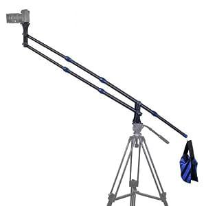 TARION® DSLRデジタル一眼レフ ビデオカメラ用 スイングアーム スケーラブルな設計 収納袋付き ブラック&ブルー