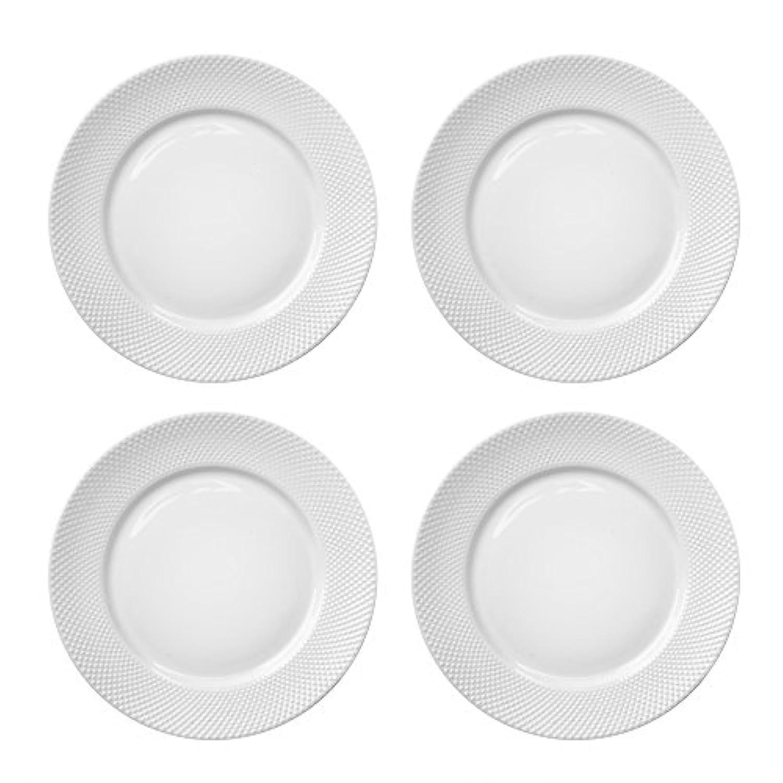 Elle Décor 6827-4D クロエセット ディナープレート ホワイト