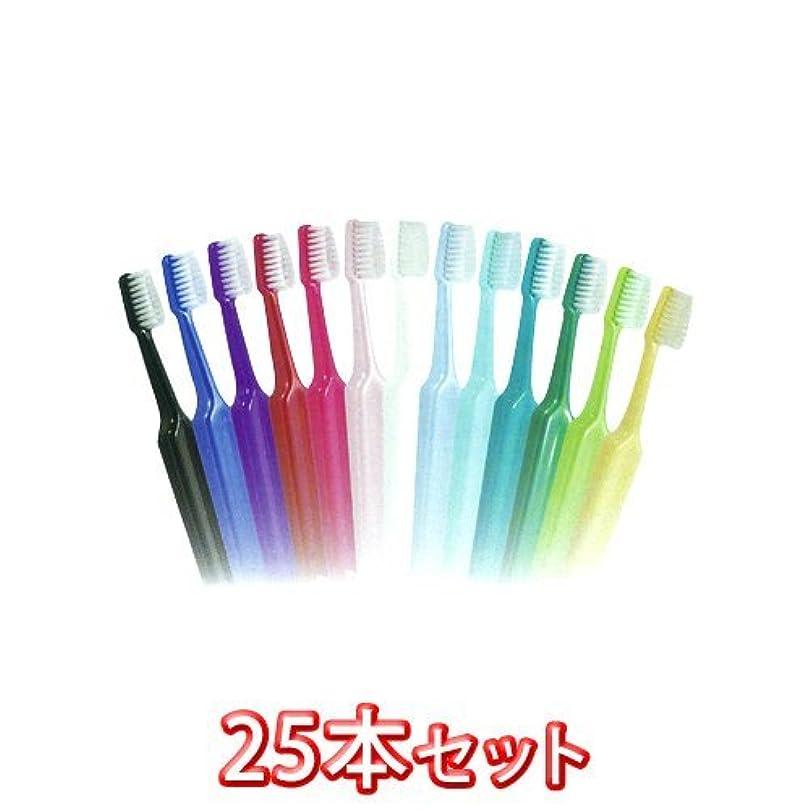 反動褐色チョップTePeテペセレクトコンパクト歯ブラシ 25本(コンパクトエクストラソフト)