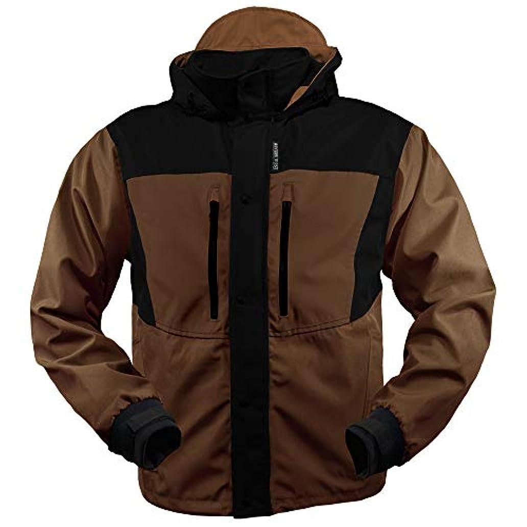 さびたスキームしおれた防水防風釣りギア – Kokaneeジャケット