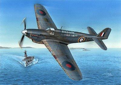 1/48 英・フェアリー・フルマーMk.I/II艦上戦闘機・ハイテック