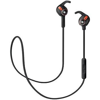 Jabra ROX WIRELESS ブラック ワイヤレス Bluetooth イヤホン ヘッドセット (ステレオ 防滴防塵 Dolby対応) 【日本正規代理店品】