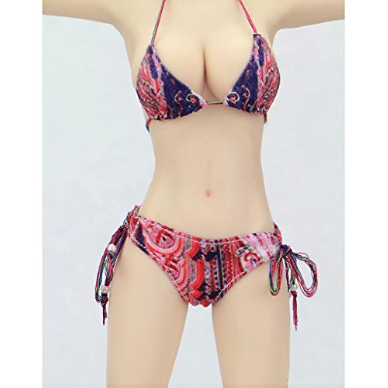 ノーブランド 品 2セット 1/6スケール 女性フィギュア 人形の下着 ビキニ 水着 アクセサリー ギフト