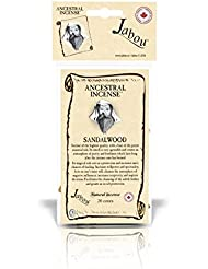 Jabou Ancestral 100%天然お香 コーン - 12個のアロマ - 瞑想 ヨガ リラクゼーション マジック ヒーリング 祈り 儀式 - 20個のコーン - 各30分以上持続