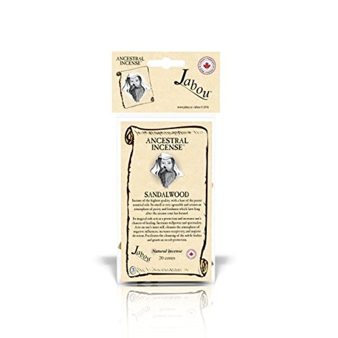 本物前者世代Jabou Ancestral 100%天然お香 コーン - 12個のアロマ - 瞑想 ヨガ リラクゼーション マジック ヒーリング 祈り 儀式 - 20個のコーン - 各30分以上持続