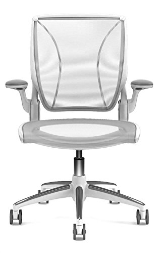Humanscale オフィスチェア ワールドチェア ホワイト (ホワイトフレーム/オールメッシュ) 142577