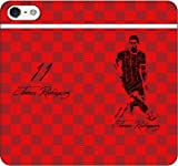 iPhone/Xperia/Galaxy/他機種選択可:サッカー/グラフィティ手帳ケース(デザイン:ミュンヘン/11番_01) 14 全機種対応用【Mサイズ】