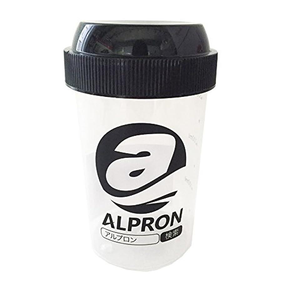 絡まるジャケット適合するアルプロン プロテインシェイカー 300ml 1個