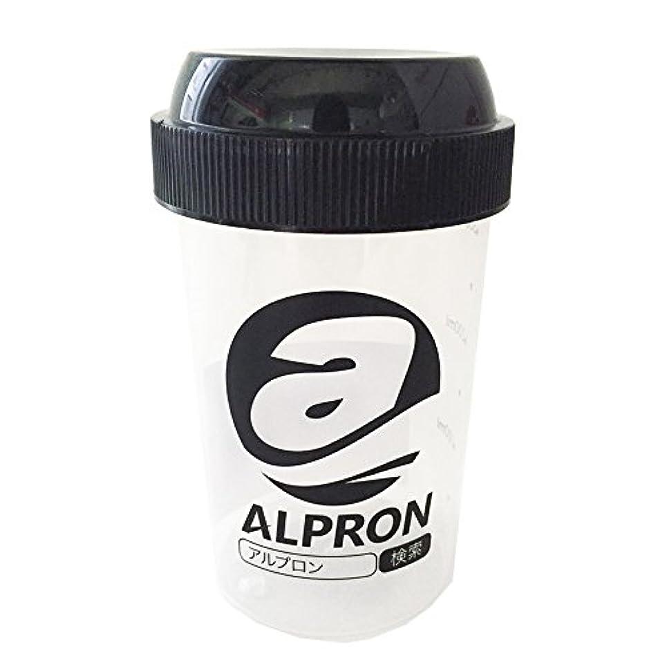 用量頭拡声器アルプロン プロテインシェイカー 300ml 1個
