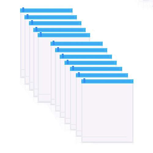 【12枚組】 YOMODA 真空圧縮袋 手巻き圧縮袋 衣類真空パック 布団収納袋 大きいサイズ 省スペース 密封 防塵防湿 防虫防カビ 掃除機不要 再利用可能 収納/旅行/出張/引越し/家庭用 12枚組