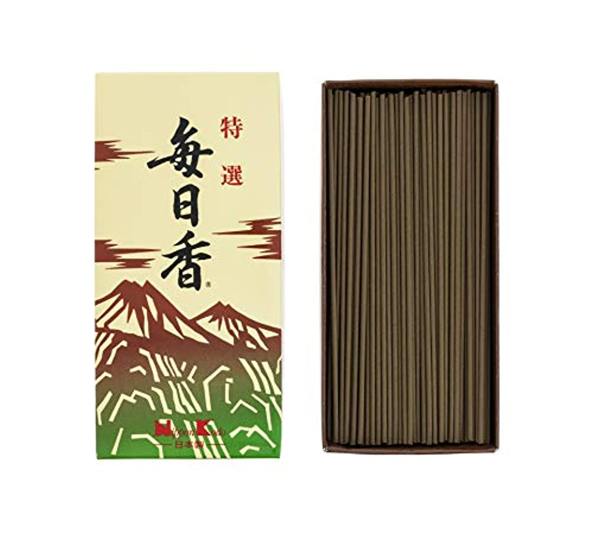 普通に柔らかいアルバム日本香堂 特選毎日香 バラ 1個