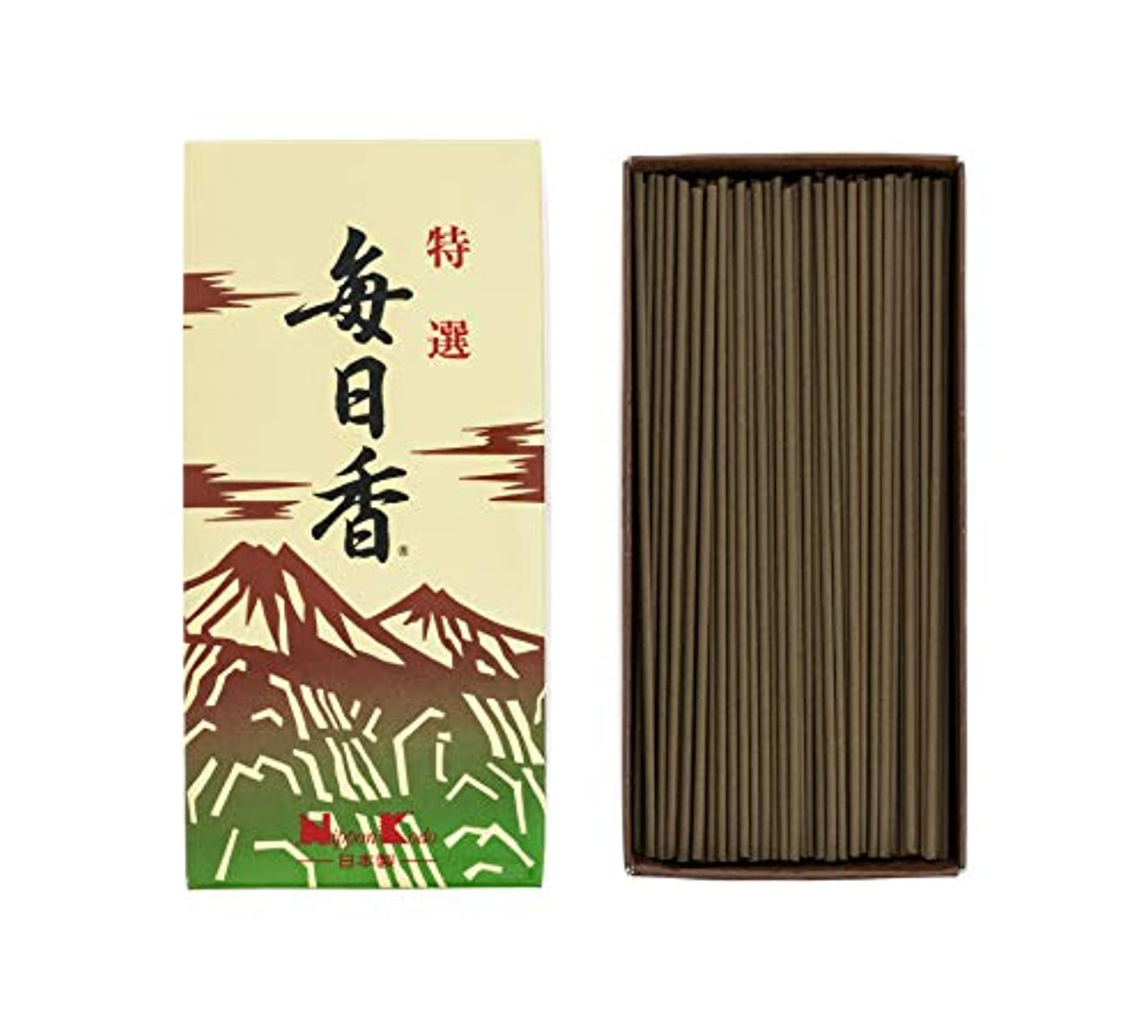 豆腐ミュウミュウ積極的に日本香堂 特選毎日香 バラ 1個